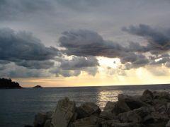 закат, но уже в Ровине
