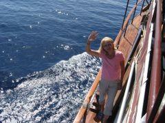 Израиль, Эйлат, прогулка на яхте