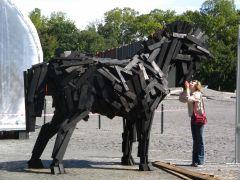 Я люблю свою лошадку - деревянный зоопарк Будапешта