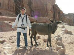 Петра, ослик и я