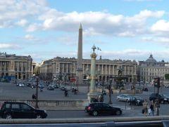 Париж. Площадь согласия.