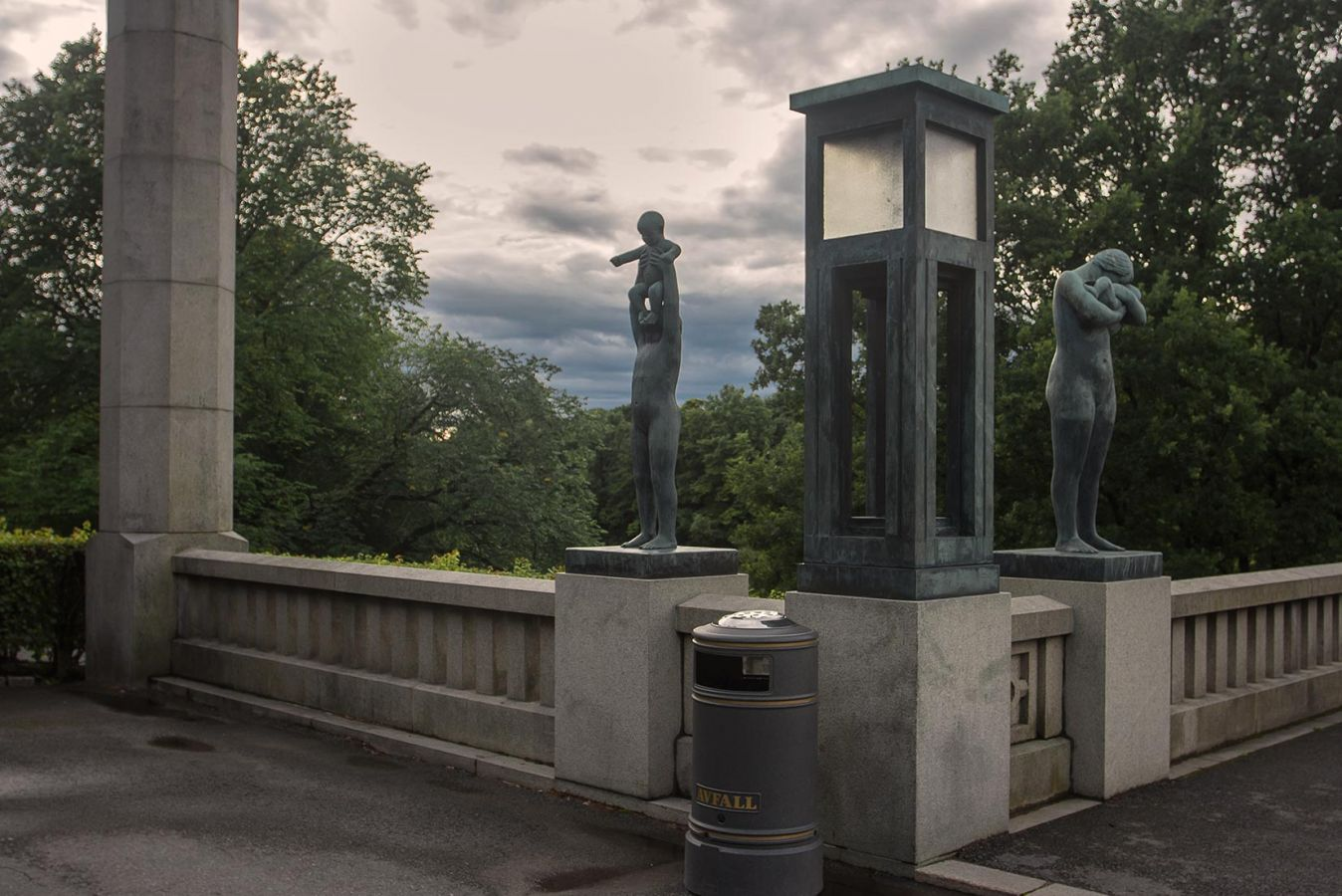 Парк скульптур Вигеланда в Осло_1