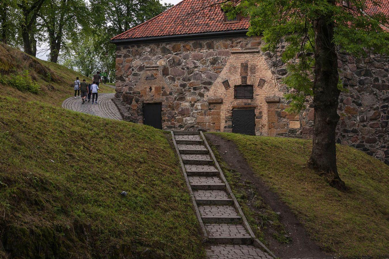 В крепости Акерсхус в Осло_1