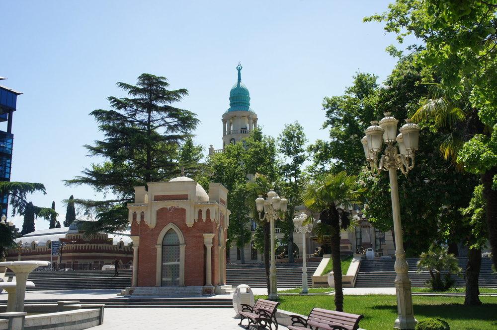 DSC02921 Азербайджан  Гянджа  мечеть ШахАббасмашиди Усыпальница Джавад-Хана  .JPG