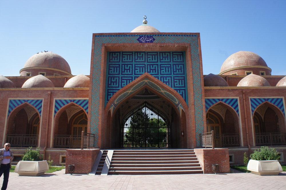 DSC02946 Азербайджан комплекс-паломническая мечеть %22Имам-Заде%22  .JPG