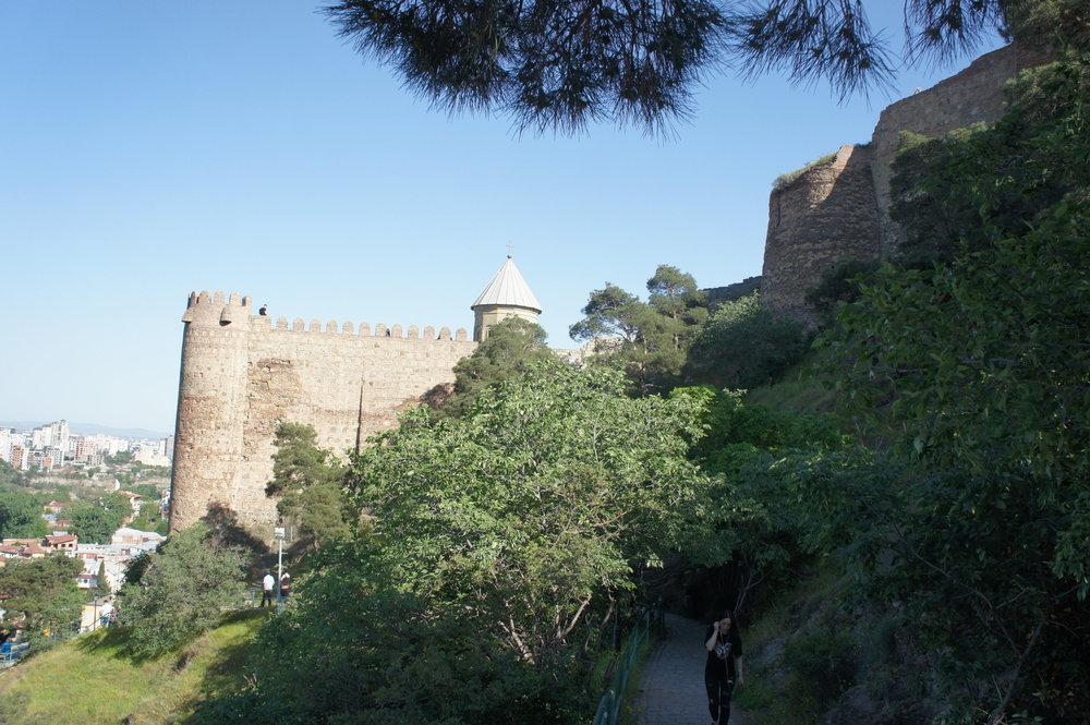 DSC02718  Грузия Тбилиси крепость Нарикала .JPG