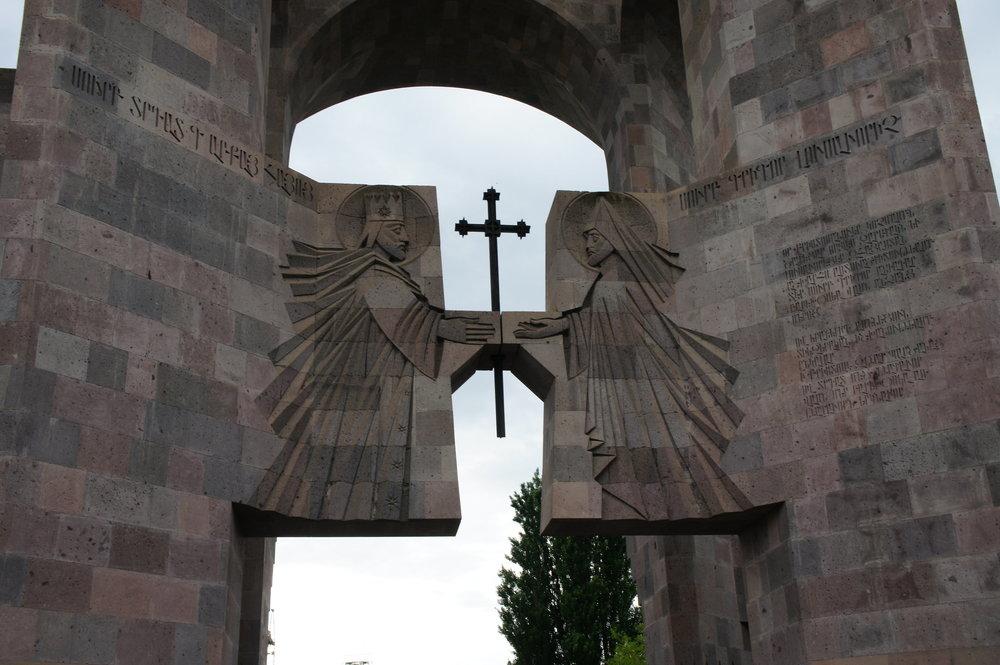 DSC03301    Армения Вагаршапат %22армянский Ватикан%22 - Эчмиадзин .JPG
