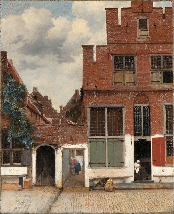 SK-A-2860-Вид на дома в Делфте_известный как Маленькая улица_Йоханнес Вермеер_1658.jpg