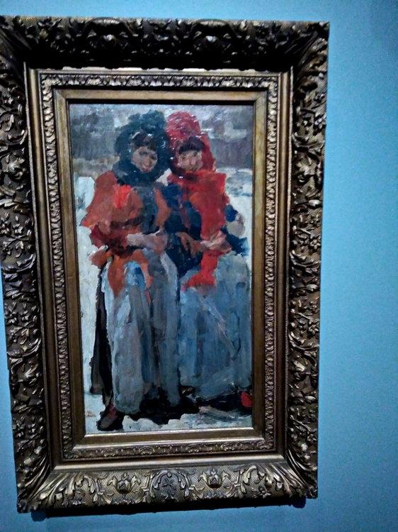 P_20180422_105649-Исаак Исраэлс_2 молодых женщины в снегу-1894.jpg