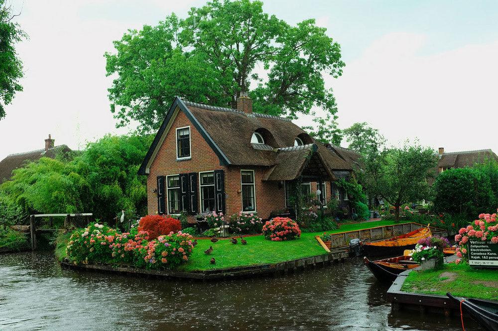 10-Ландшафтный дизайн в деревне в Нидерландах.jpg