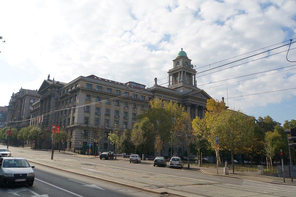 12691.Белград.Здание Министерства транспорта в Белграде («Железные Дороги Сербии»).jpg