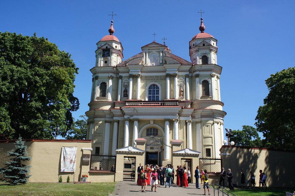 DSC04312 Вильнюс  Костел Св. Петра и Павла  .JPG