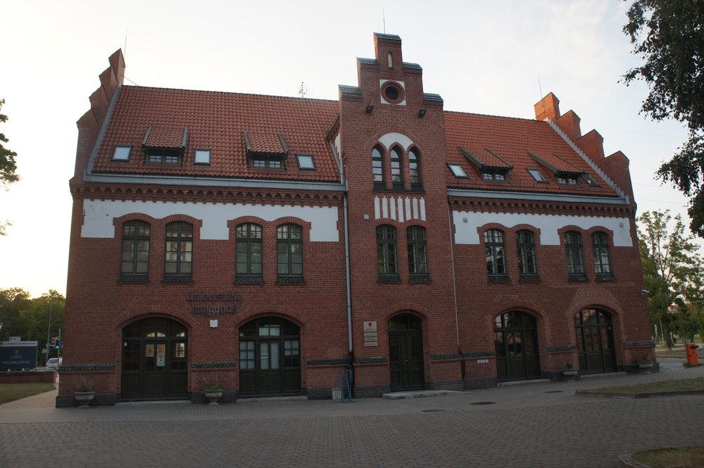 DSC05207 Клайпеда. университет  Литва.   .JPG
