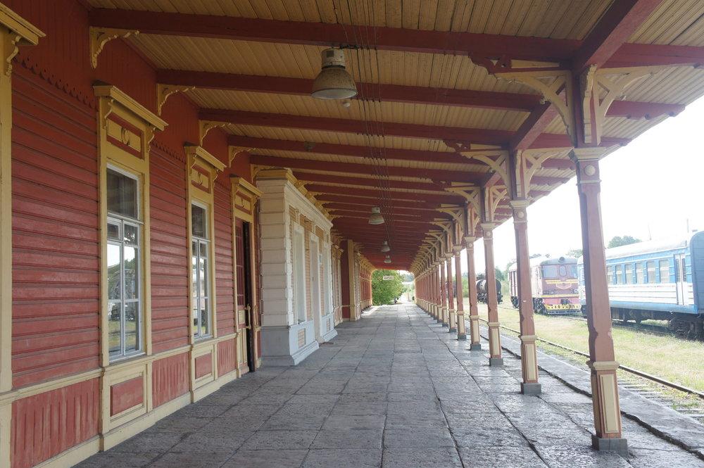 DSC04977  Хаапсала. вокзал    Эстония.    .JPG