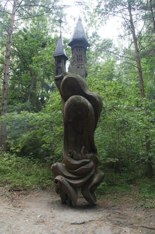 DSC05291 Нида гора ведьм Куршская коса  Литва  .JPG
