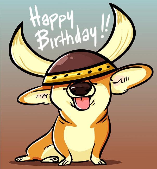 Поздравление викинг с днем рождения