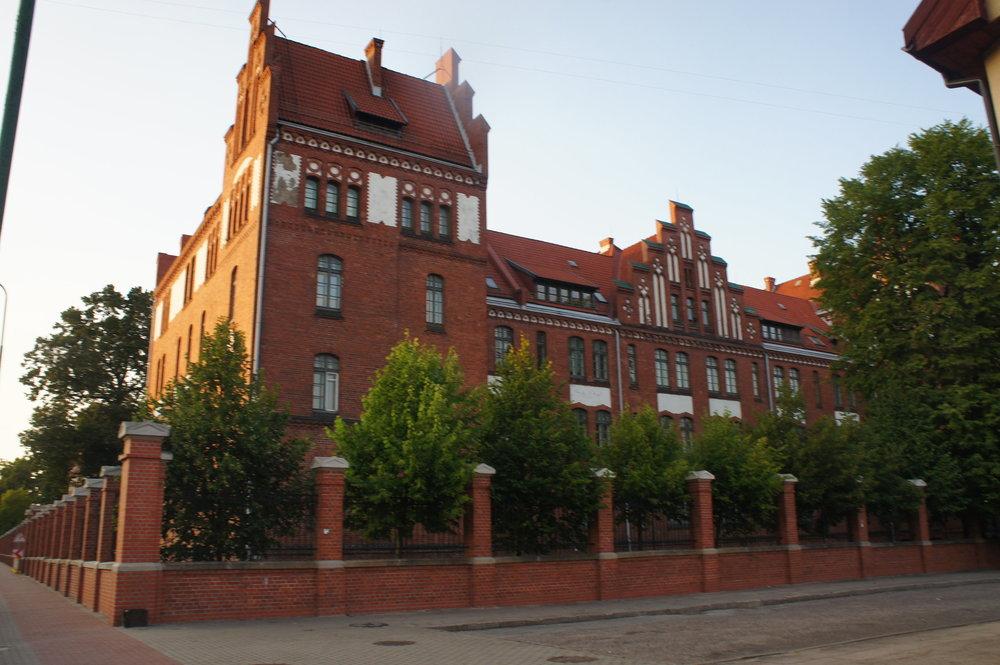 DSC05193  Клайпеда. университет  Литва.   .JPG