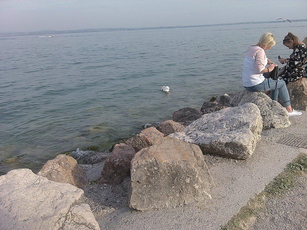 Озеро Гарда в 16-30 по местному времени