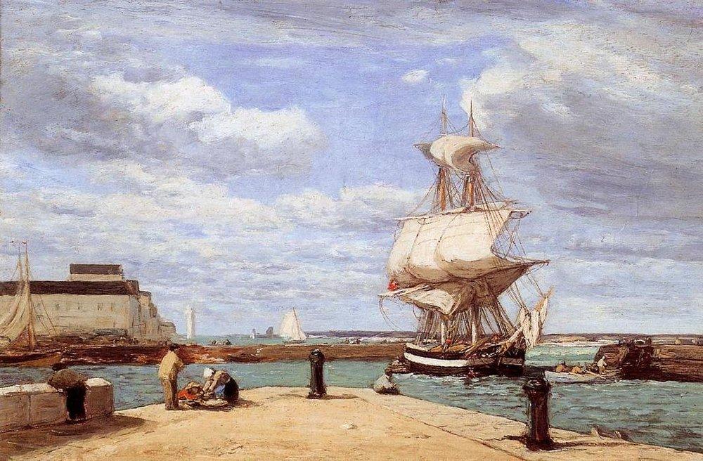 Eugene-louis-Boudin-Honfleur-the-Port.JPG