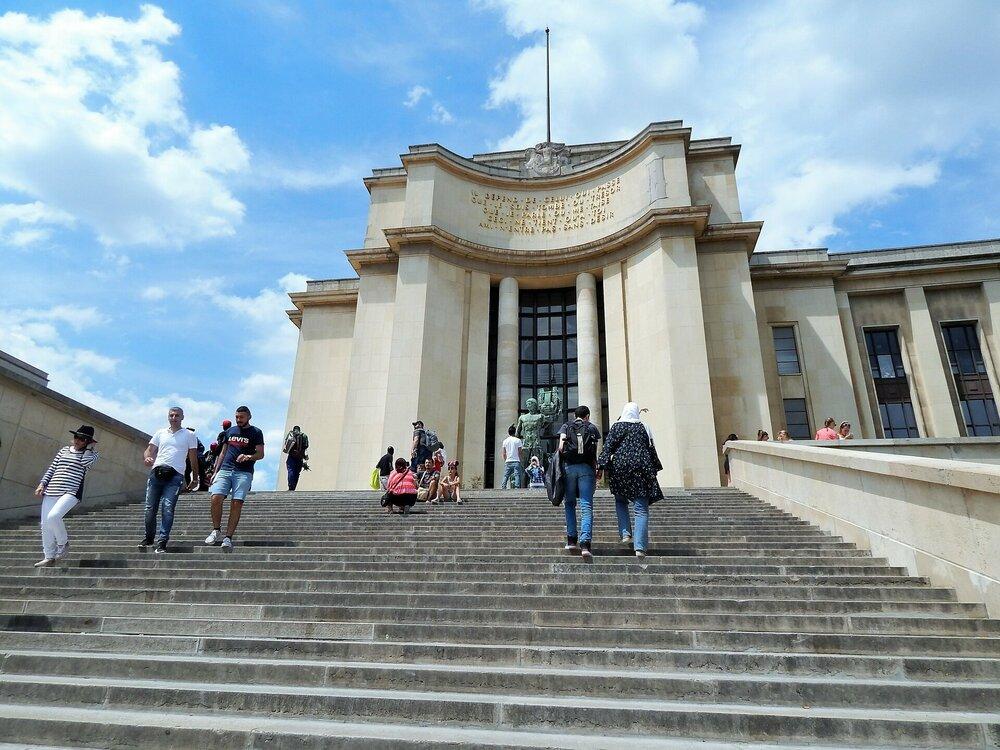 Париж лестница до Трокадеро.jpg