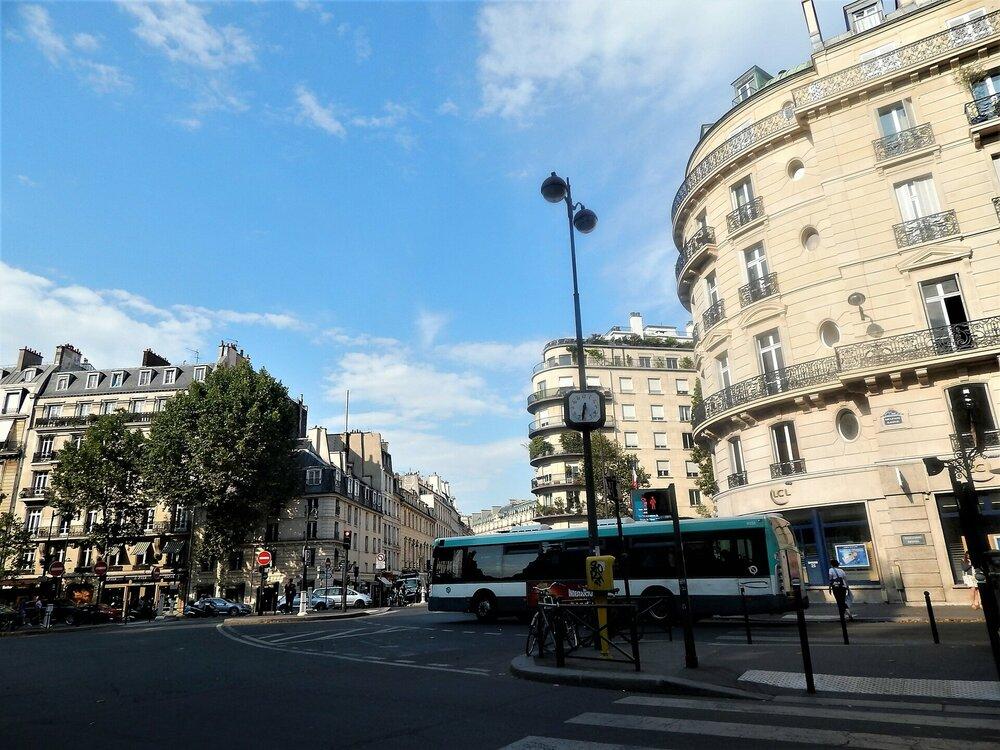 Париж (дорога к Монпарнас,почта).jpg