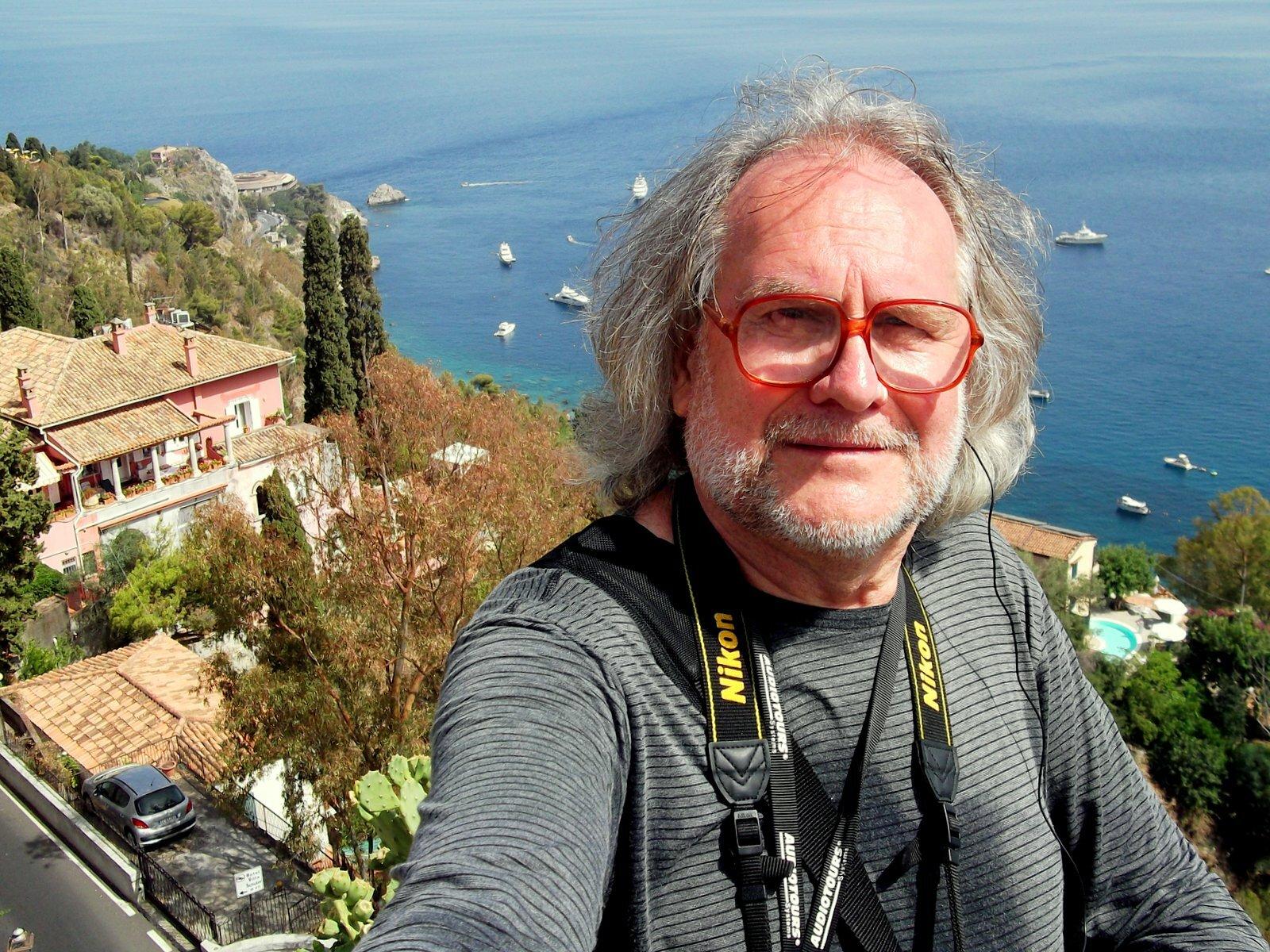 ИТАЛИЯ, остров Сицилия. Город-курорт Таормина (16 июля 2018 года)