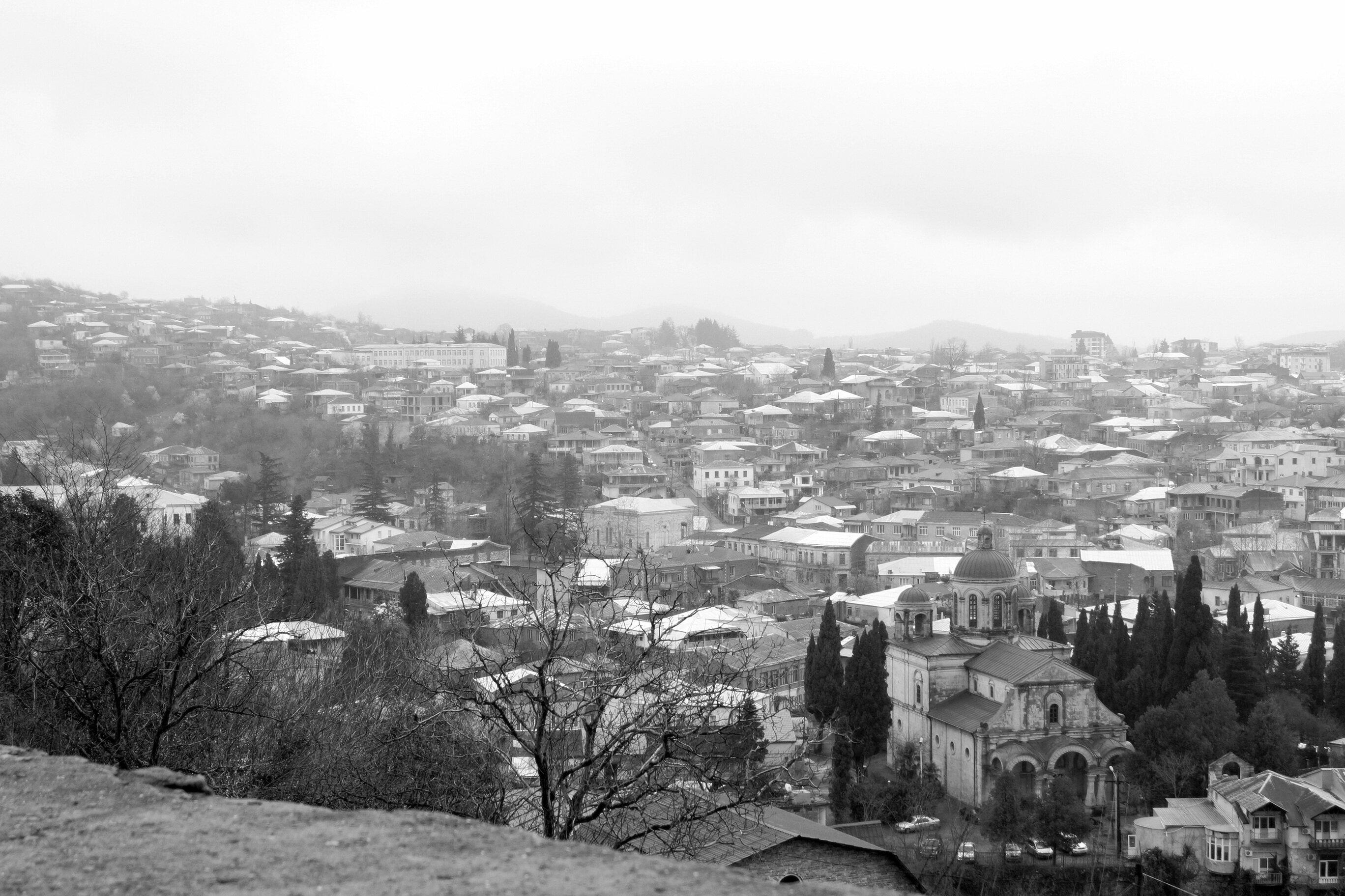Путевые февральские заметки. Черно-белый Кутаиси