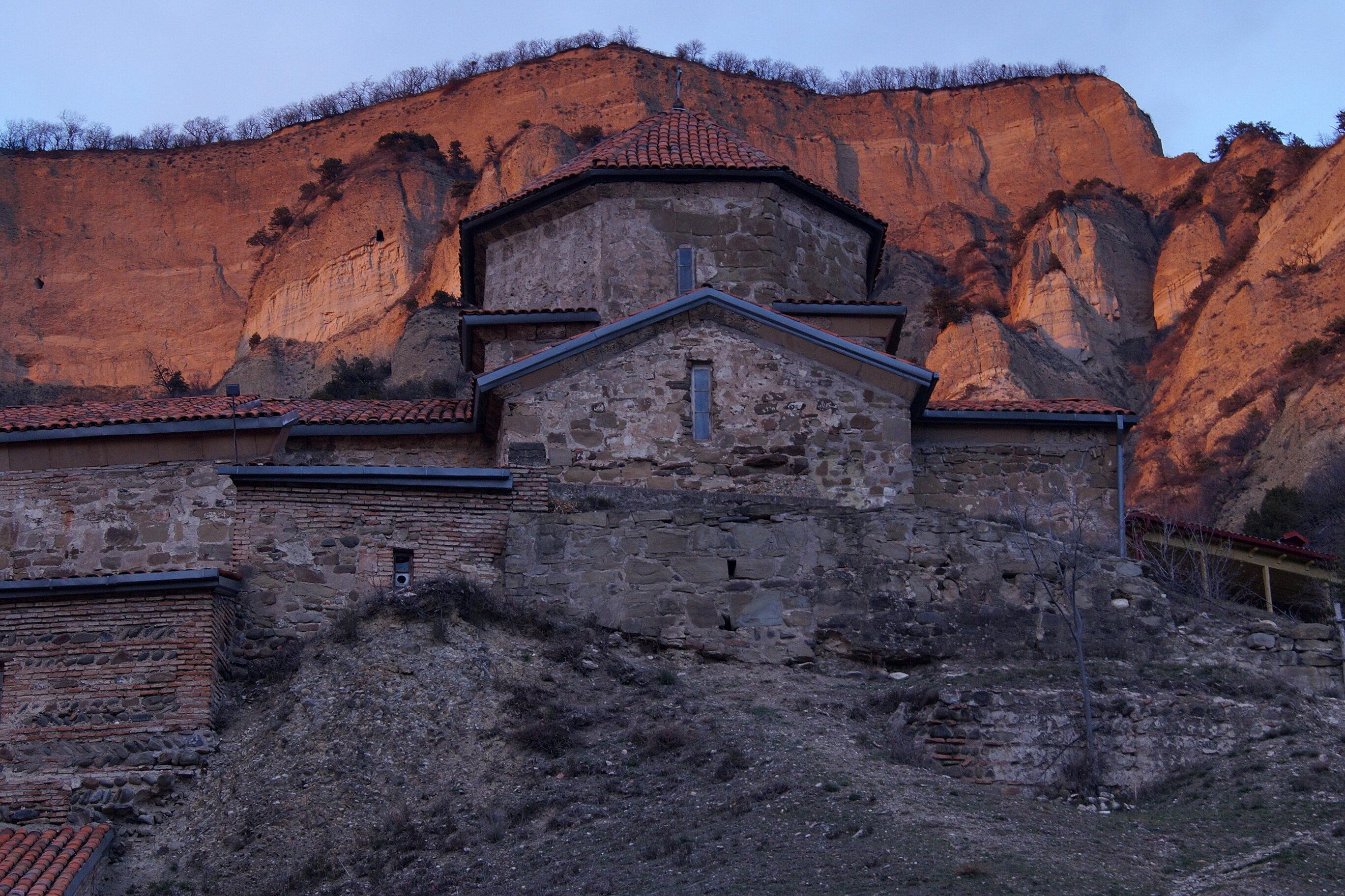 Путевые февральские заметки. Шиомгвимский монастырь