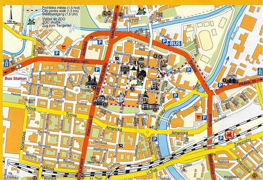 Туристическая карта Плзени.jpg