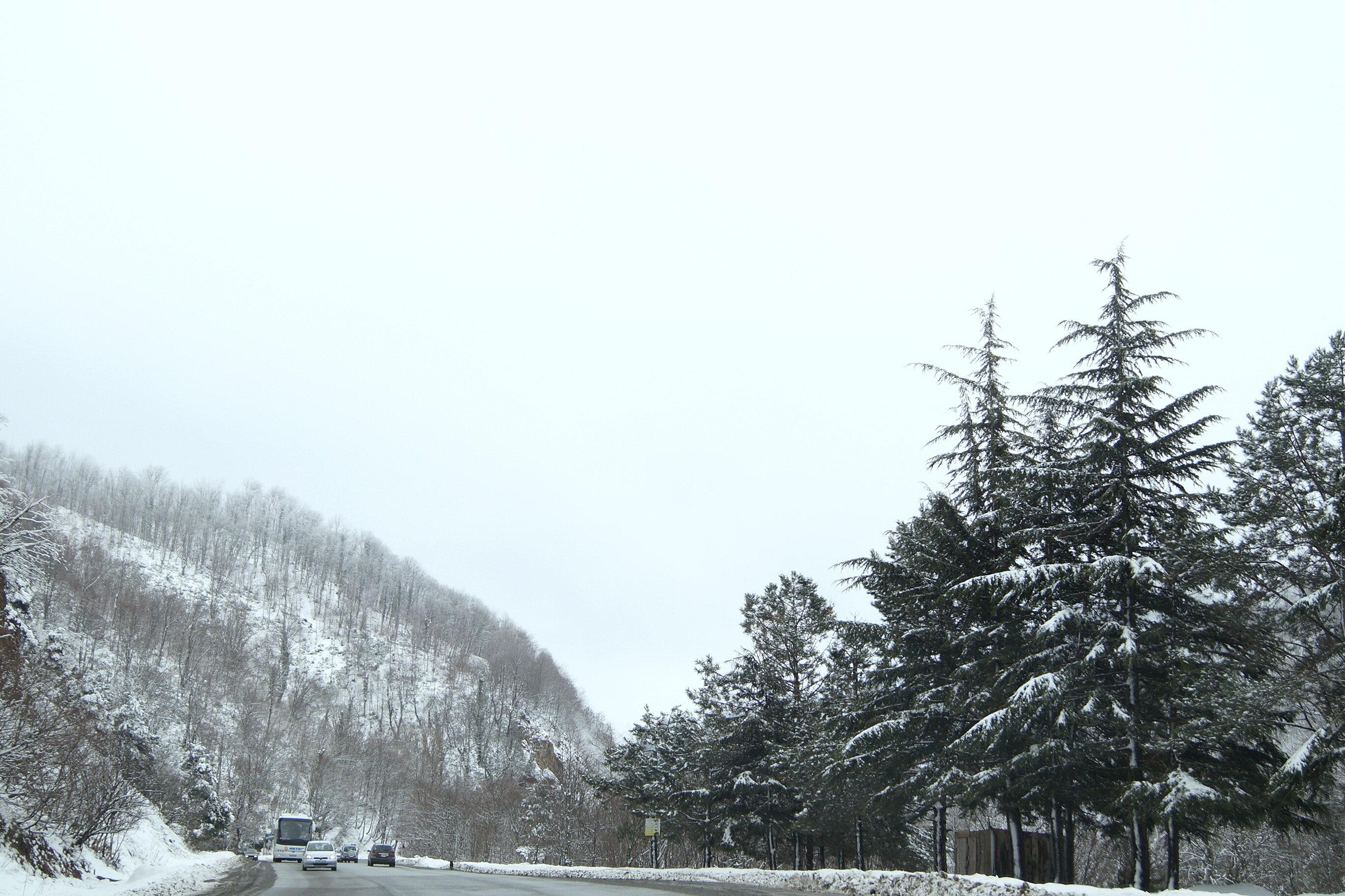 Путевые февральские заметки. По дороге в Тбилиси