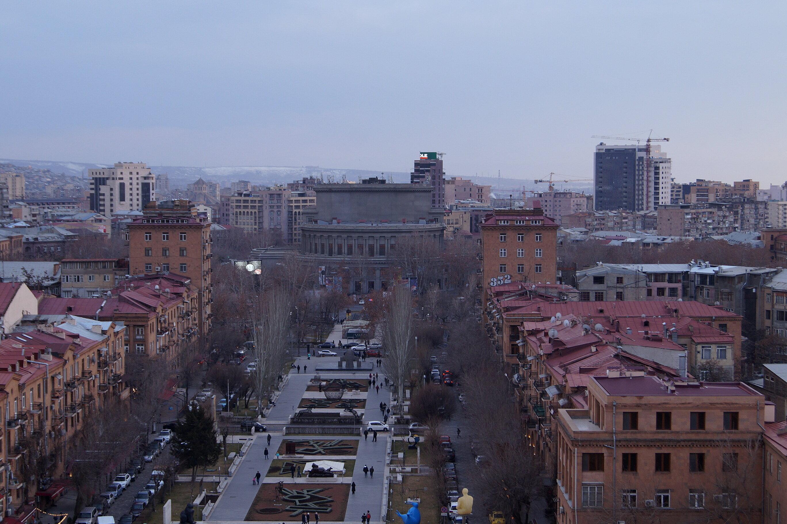 Путевые февральские заметки. Возвращение в Армению