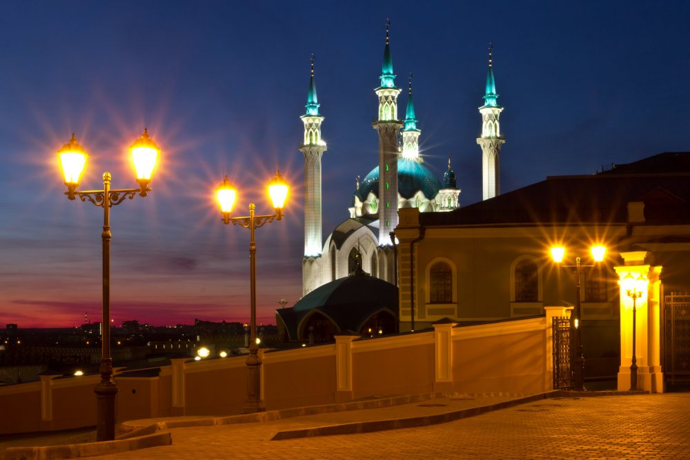 IMG_6477 Вечерняя Казань Мечеть Кул Шариф.jpg