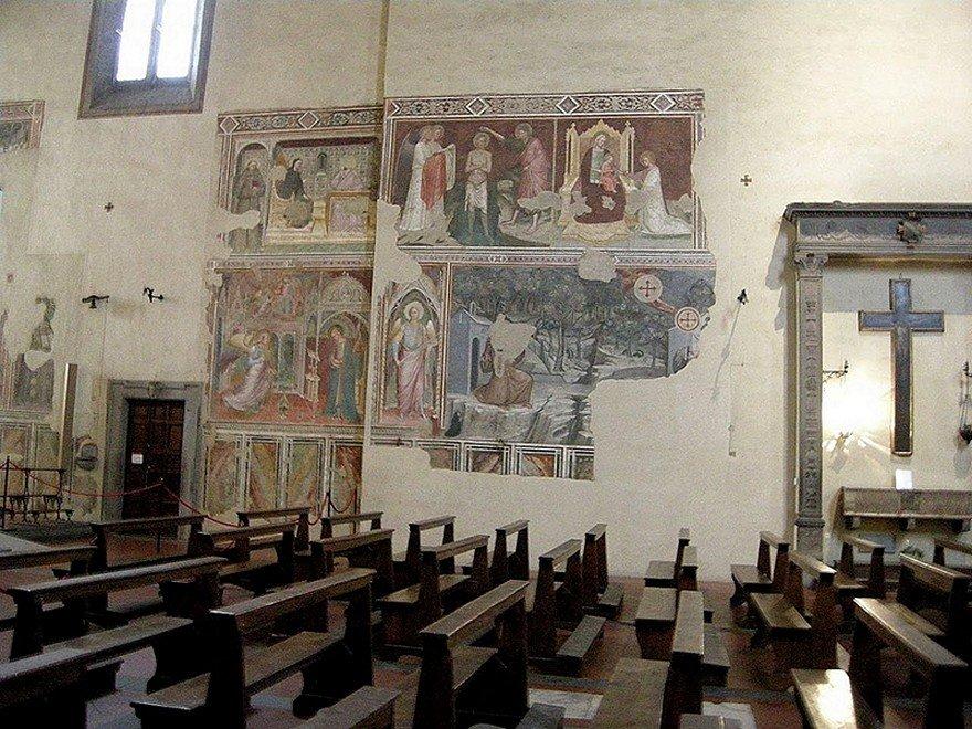 Arezzo, san francesco, interno[1].JPG