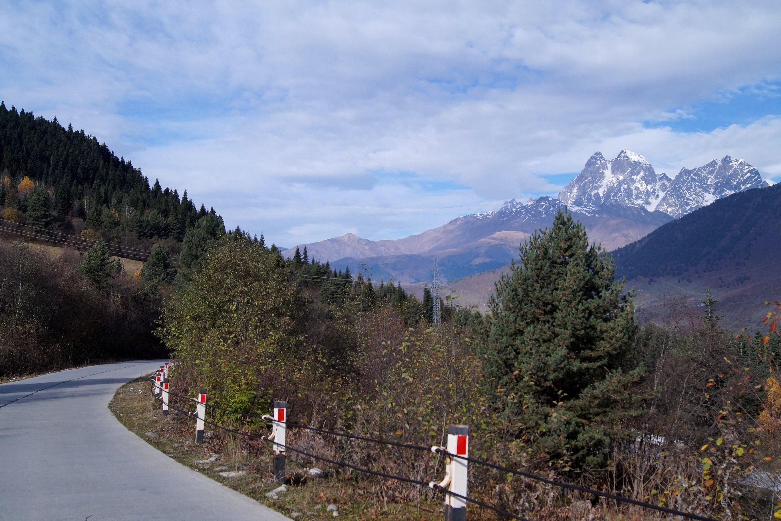 Сванетия, дорога до Ушгули (Заметки из солнечного отпуска. День 4)