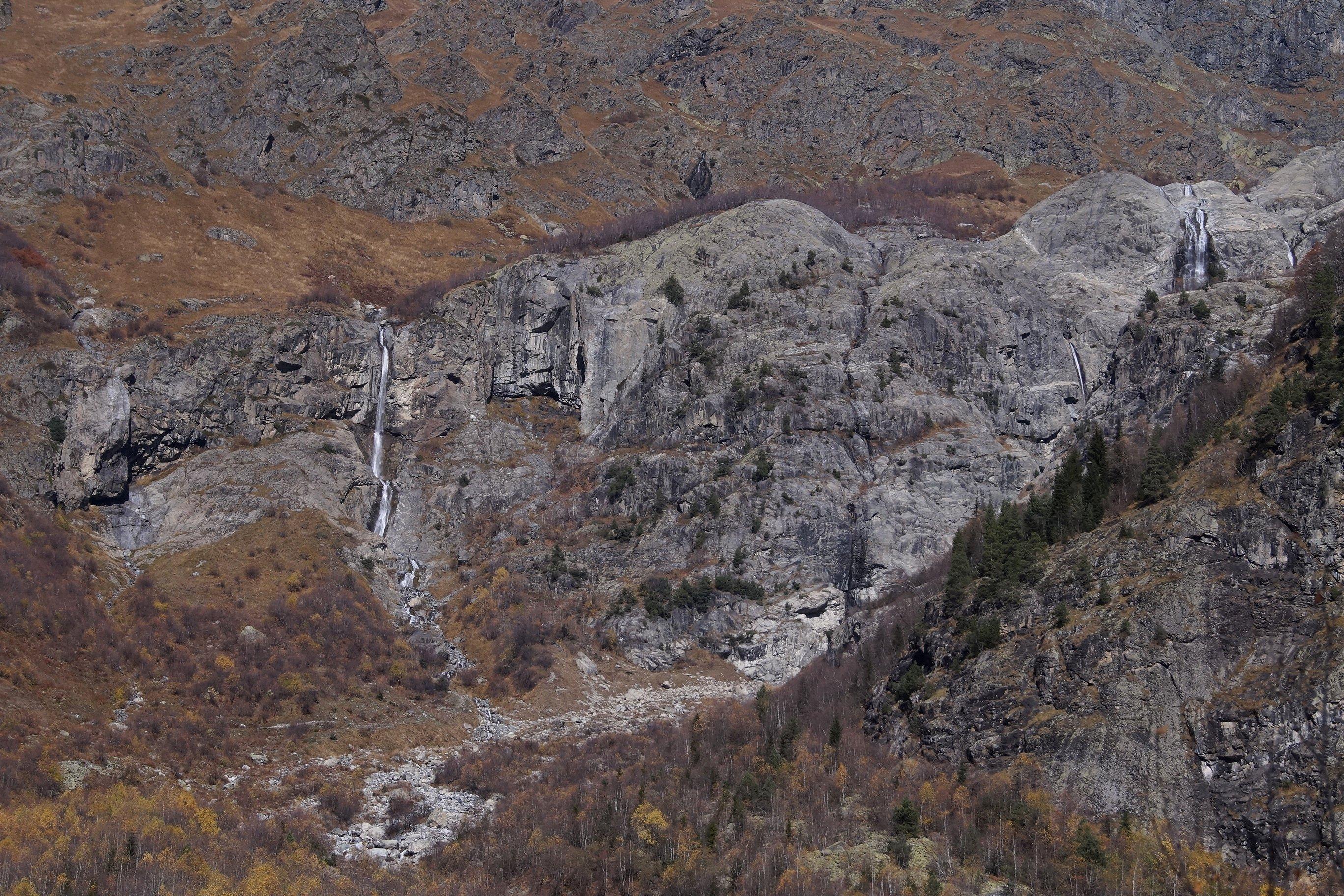 Сванетия, к водопадам Мазери (Заметки из солнечного отпуска. День 5)