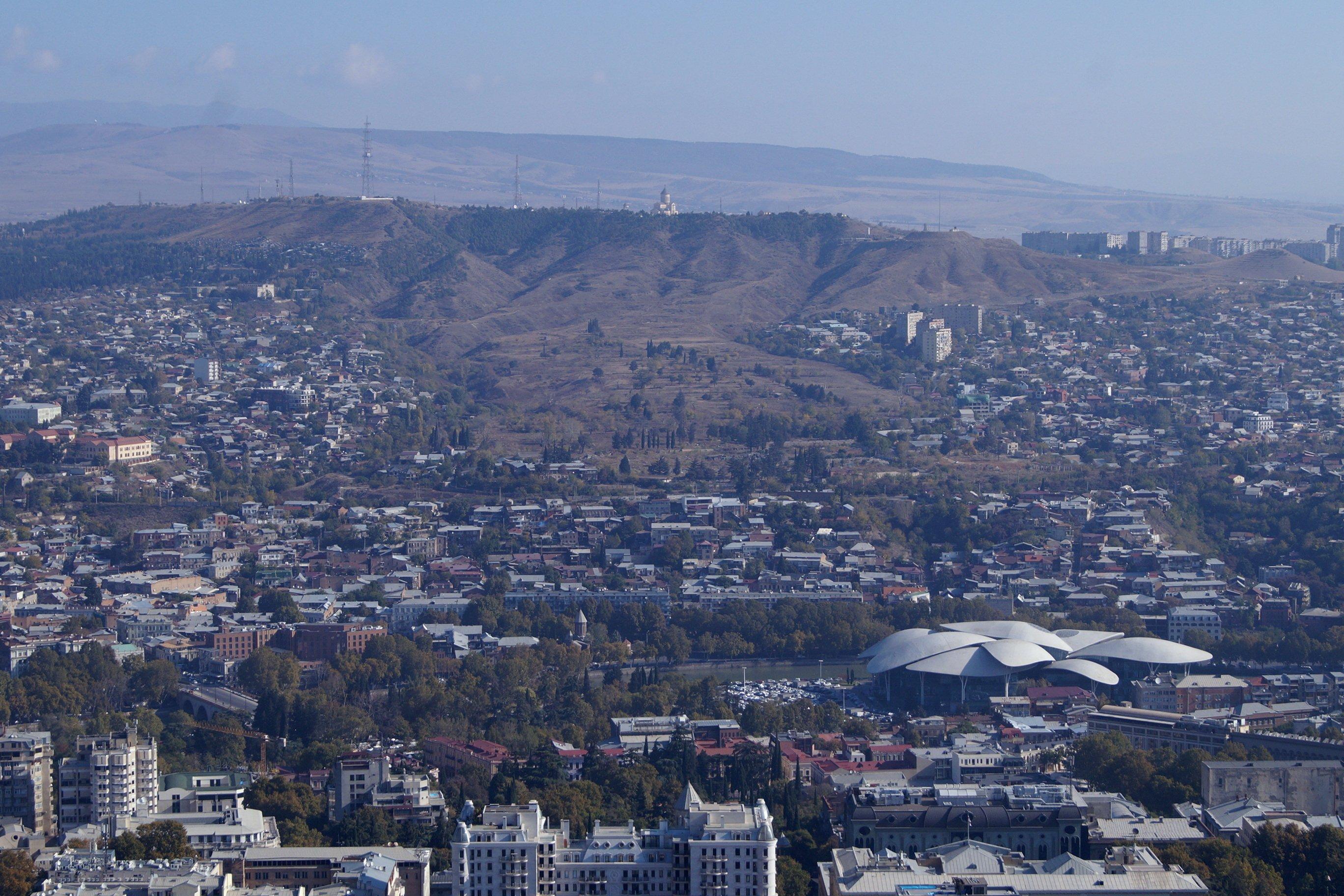 Картинки из Тбилиси (от Нарикалы до Мтацминды). (Заметки из солнечного отпуска. День 10)