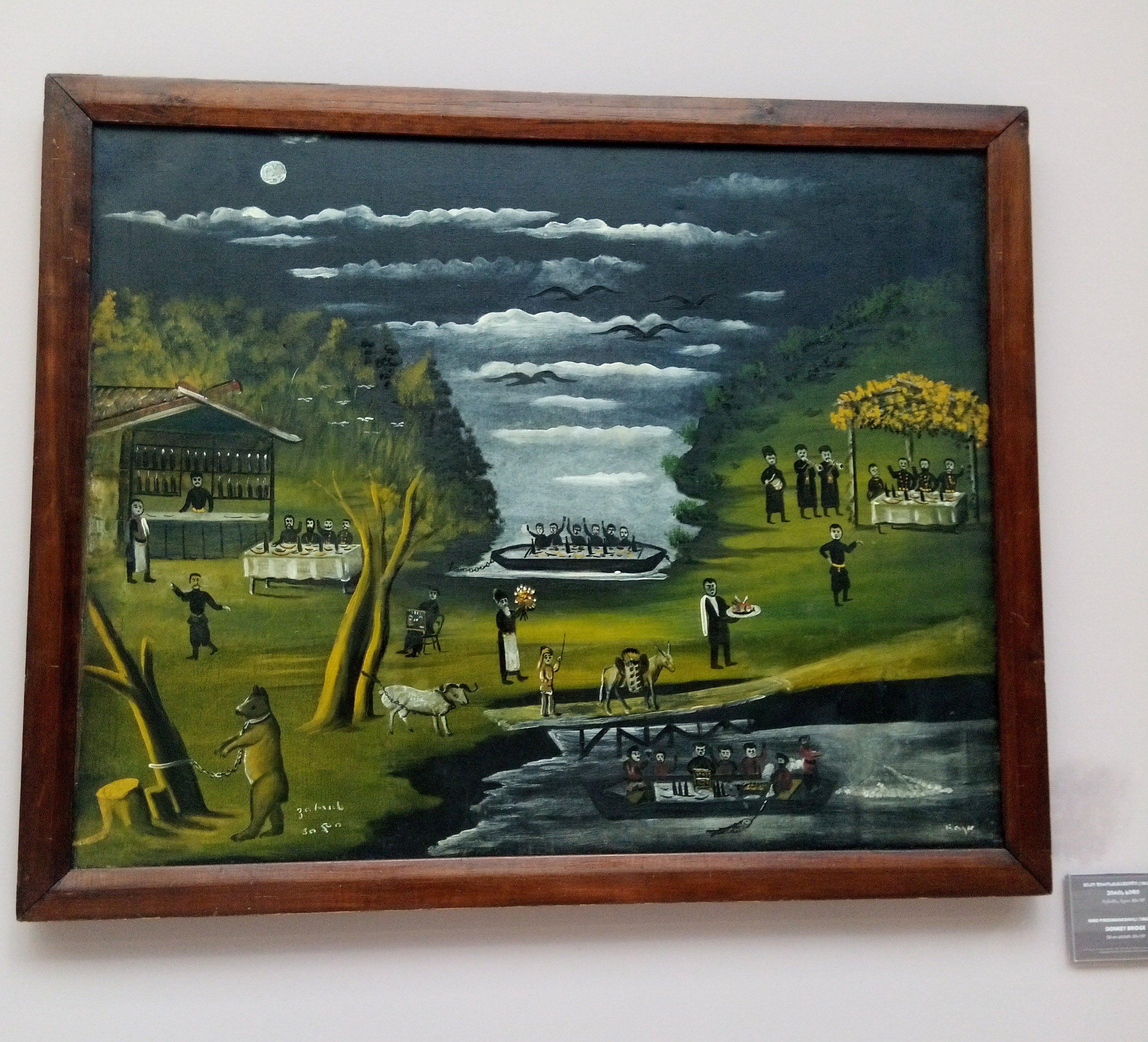 Картинки из Тбилиси, Национальная художественная галерея (Заметки из солнечного отпуска, день 10)