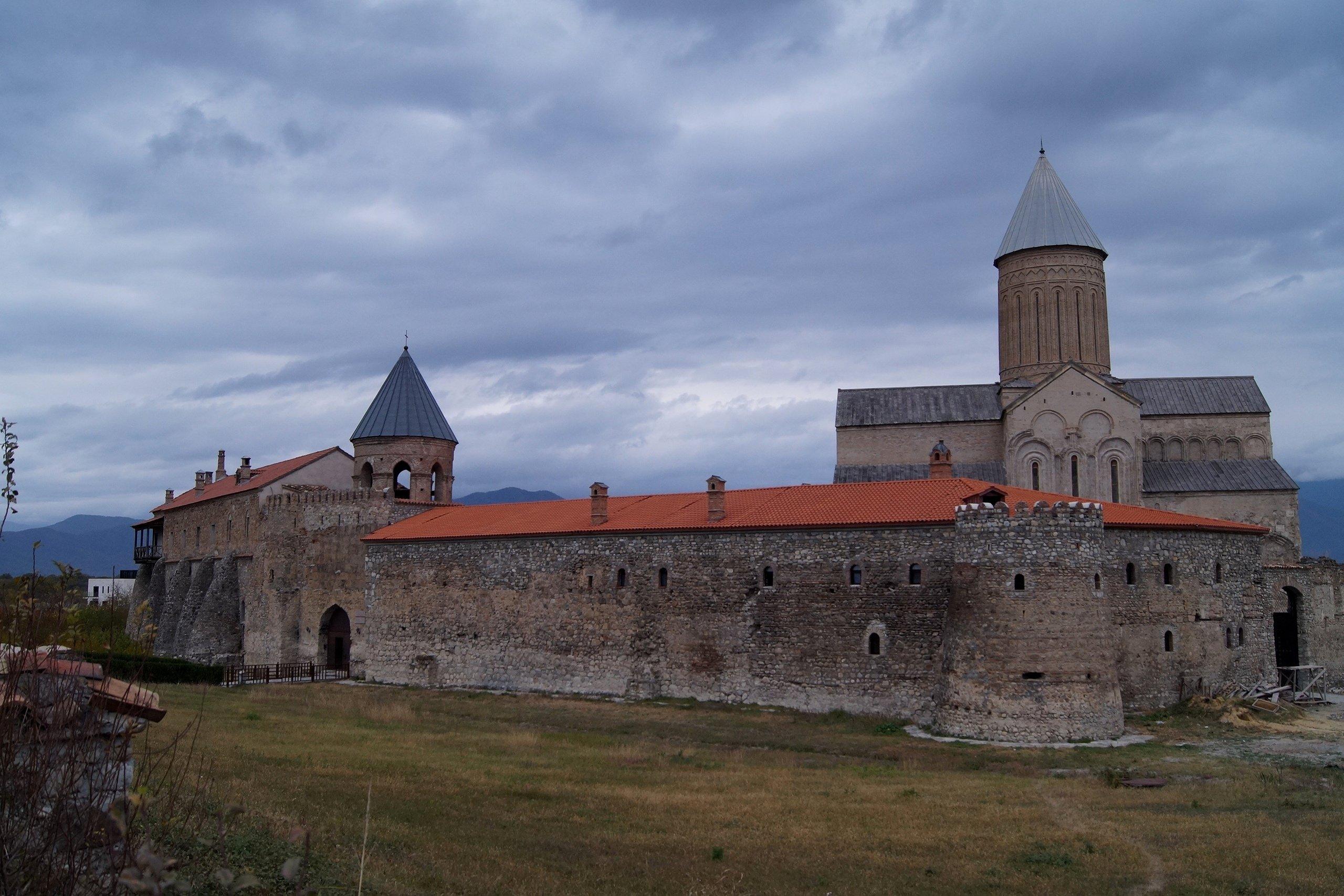 Кахетия. Монастырь Алаверди (Заметки из солнечного отпуска. День 12)