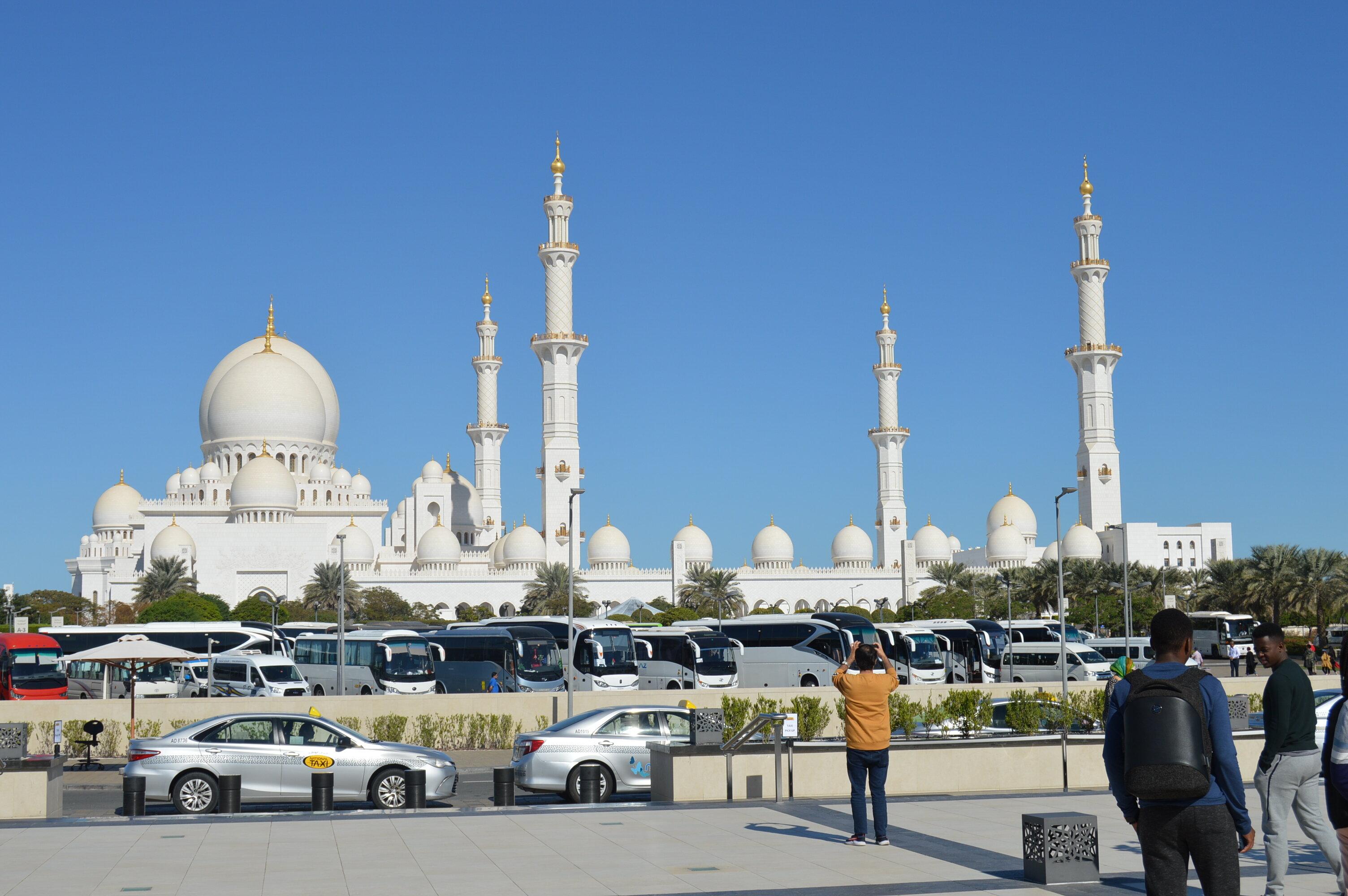 ОАЭ, Абу-Даби, 7 января 2020 года