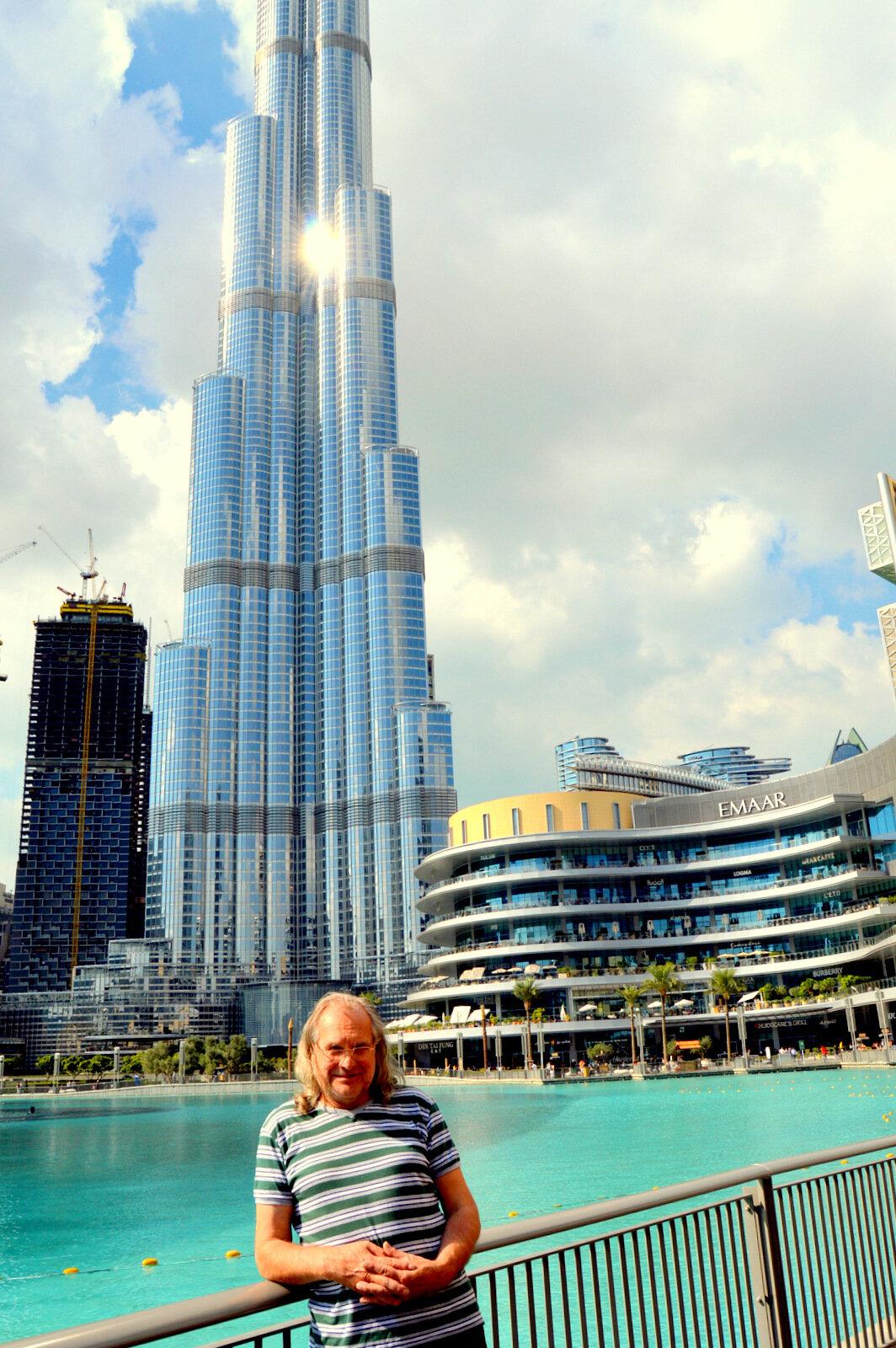 ОАЭ, Дубай. Прогулка к Аль-Фахиди Форту и Бурдж-Халифе, 15.01.2020 (продолжение)