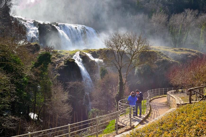 турецкие мраморные водопады сполето фото здравницы представляет собой