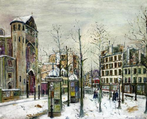 The Place des Abbesses in the Snow.jpg