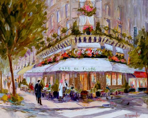 SpanglerNew2007-Cafe de Flore-Paris-16x20.jpg