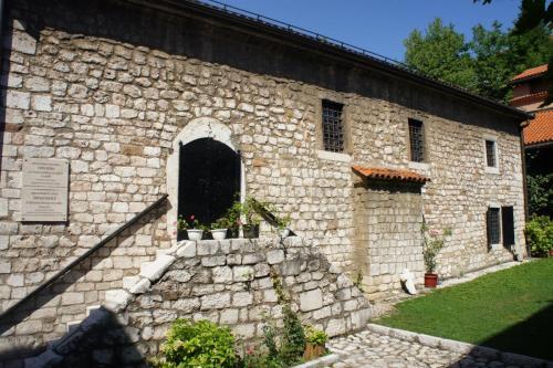 DSC00080 Сараево   церковь Св. архангелов Михаила и Гавриила или Старая Православная церковь  Босния и Герцеговина .JPG