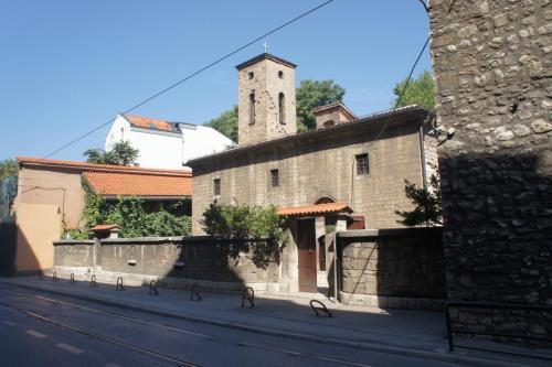 DSC00069 Сараево  церковь Св. архангелов Михаила и Гавриила или Старая Православная церковь  Босния и Герцеговина .JPG