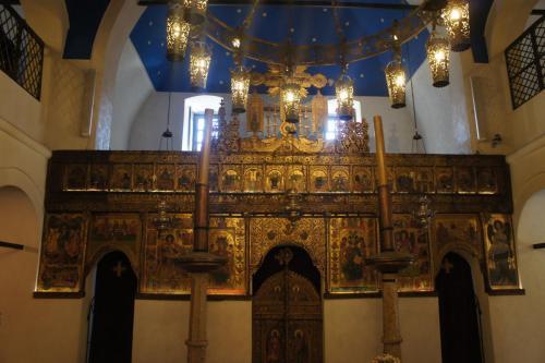 DSC00071 Сараево   церковь Св. архангелов Михаила и Гавриила или Старая Православная церковь  Босния и Герцеговина .JPG