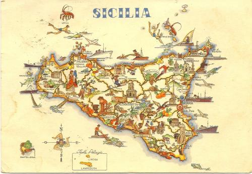 Sicily Map Card from Vienna 4_16_1954 to C&R.jpg