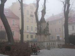 Туманное утро в Душники Здруй.