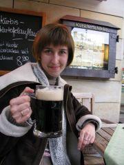 ...очень-очень вкусное тёмное пиво
