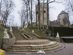 Цесисские замок и парк